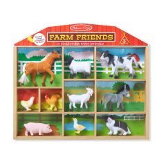 MD594 Farm Friends - 10 Collectible Farm Animals (Набір тварин ферми, 10 шт.)