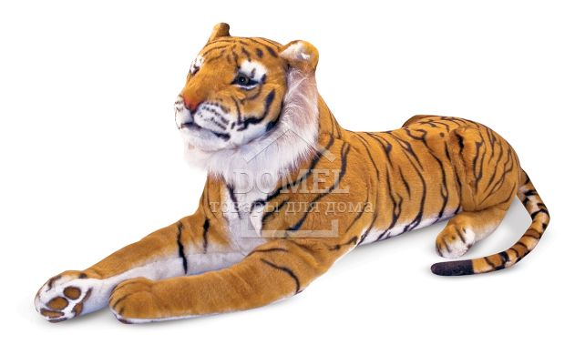 MD12103 Tiger - Plush (Гигантский плюшевый тигр, 1,8 м)