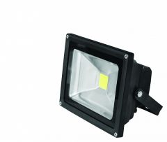EUROELECTRIC LED Прожектор COB черный 20W 6500K classic, 20W, IP65, 6500K, 1700Lm