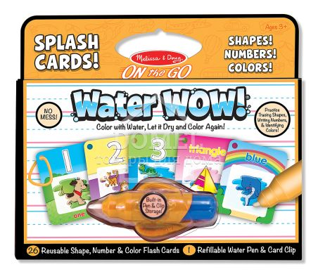 MD5237 Water Wow! Splash Cards Shapes, Numbers & Colors ...