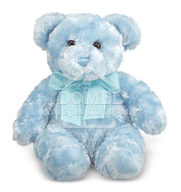 MD7663 Blueberry Blue Teddy Bear Stuffed Animal (Плюшевый мишка Черничка, 33 см)