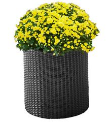 Благоустройство дачи - Страница 2 Gorshok-dlya-tsvetov-m-cylinder-planter-seryy-25588081404566_small4