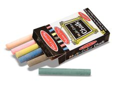 MD14130 Multi-Colored Chalk (12 pc) (Набор мелков, 12 шт.)