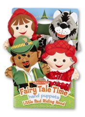 "MD9088 Fairy Tale Time Hand Puppets - Little Red Riding Hood (Кукольный театр ""Красная шапочка"")"