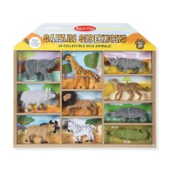MD593 Safari Sidekicks - 10 Collectible Wild Animals (Набір диких тварин, 10 шт.)