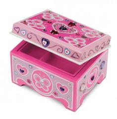 MD8861 Jewelry Box (Деревянная шкатулка для увелирных украшений)